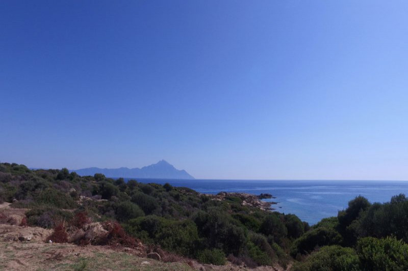 Plot in Greece, in Kriaritsi - Sithonia