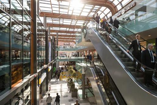 Новый торговый центр Aura Valle Aurelia открывается в центре Рима