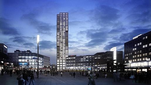 В Германии появится самый высокий жилой комплекс