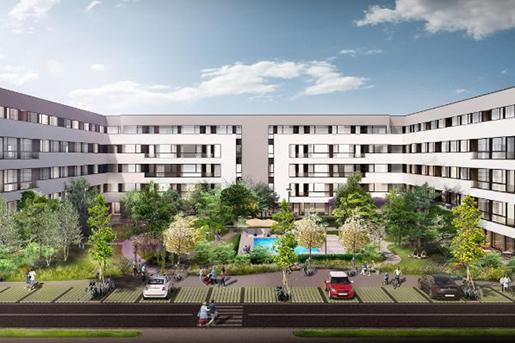 SIF Moldova и Cityring Property представили схему жилого проекта в Румынии