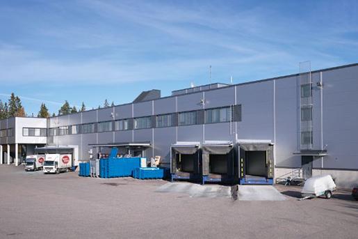 Union Investment продает логистический комплекс в Финляндии