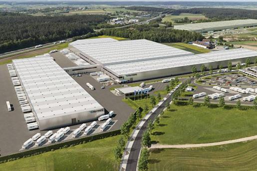 ECE возведет логистический центр в Германии