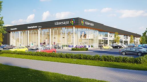 EfTEN Real Estate Fund III AS возведет в Эстонии садовый центр