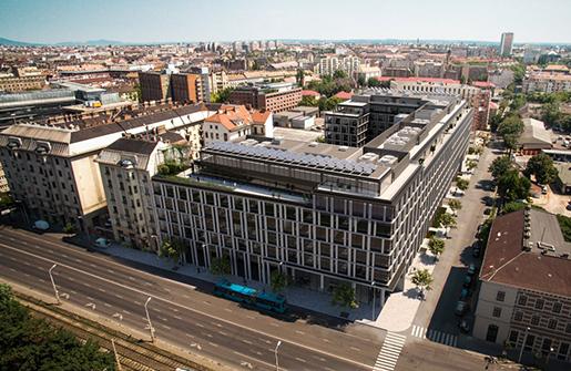 В Венгрии открыт новый офисный комплекс