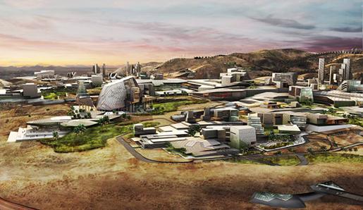 В Америке появится смарт город прямо в пустыне
