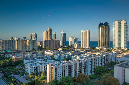 К недвижимости Майами падает интерес со стороны инвесторов из-за рубежа