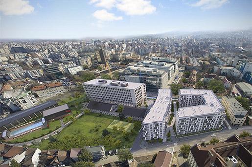 Speedwell начинает строительство комплекса смешенного типа в Румынии