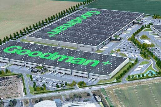 Goodman представит новый логистический комплекс во Франции
