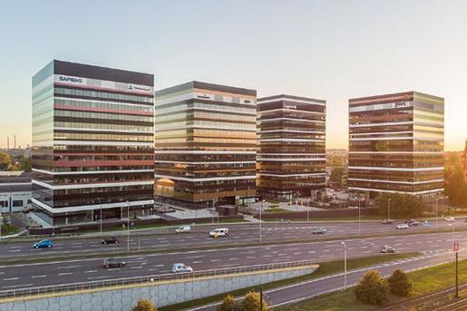 Skanska завершает продажу бизнес-парка в Польше
