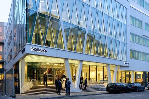 Invesco Real Estate продала головной офис Skanska в Швеции