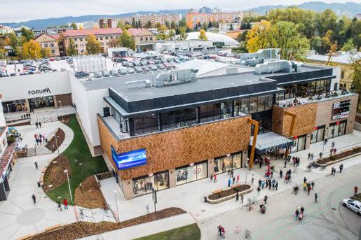 ZFP Investments and MAT Corporation приобрел торговый центр в Словакии