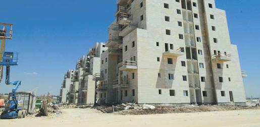 В Израиле зафиксировали рост продажи новых построек