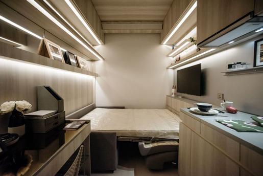 В Гонконге нано-квартиры становятся все менее популярны
