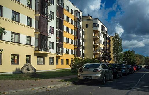 В столице Латвии выросли цены на советские постройки