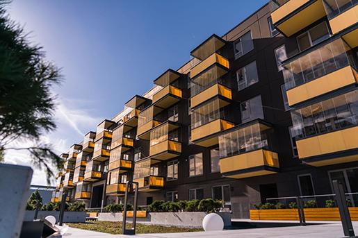 В Латвии отметили снижение роста цен на жилые объекты