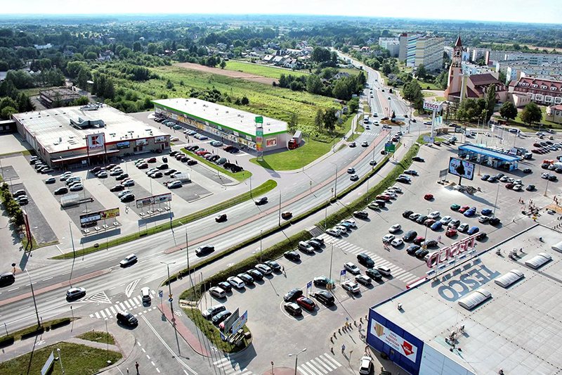 Trei Real Estate открывает розничный парк в Польше