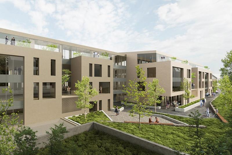 В Буде появится новый офисный комплекс