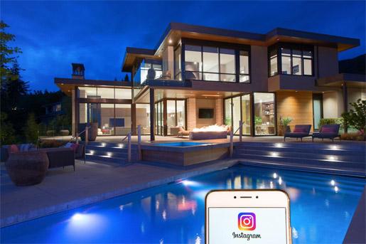 Instagram влияет нарынок элитного жилья вСША