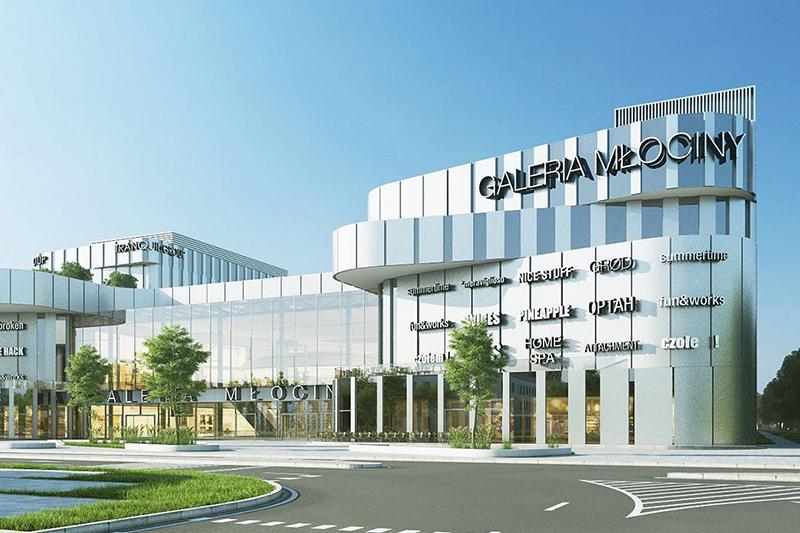 В Польше откроется торговый центр Galeria Mlociny
