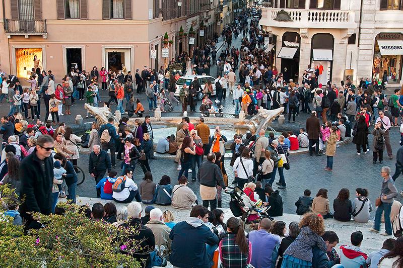 В Италии признали проблему бедности населения