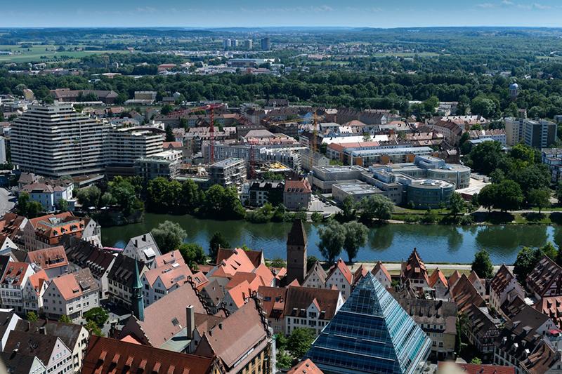В немецком Ульме резко подорожало вторичное жилье