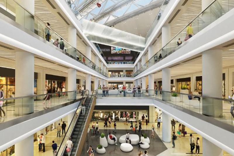 Hines в Греции перестроит торговое здание