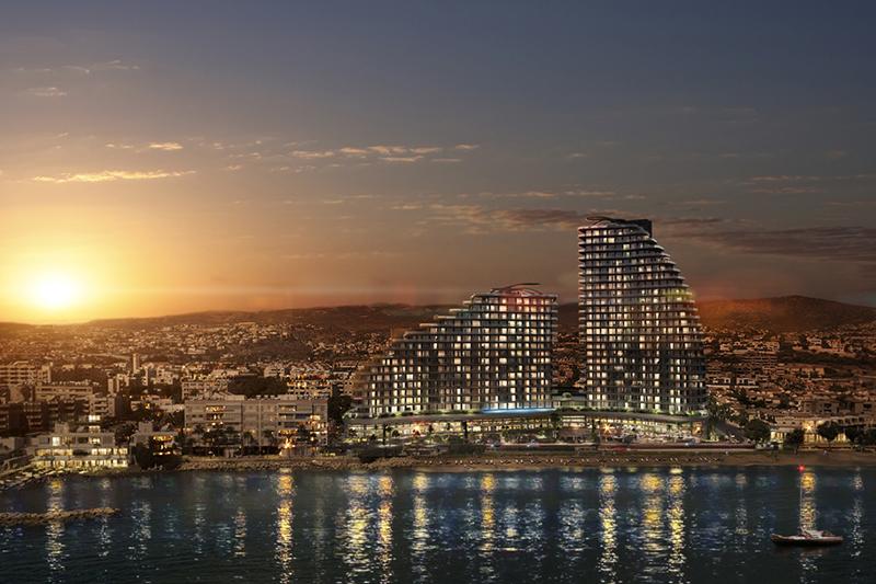 На Кипре все больше строится высотных зданий