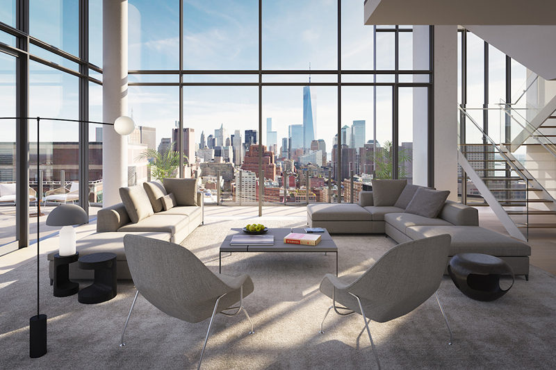 На Манхэттене активно растут ставки аренды элитного жилья