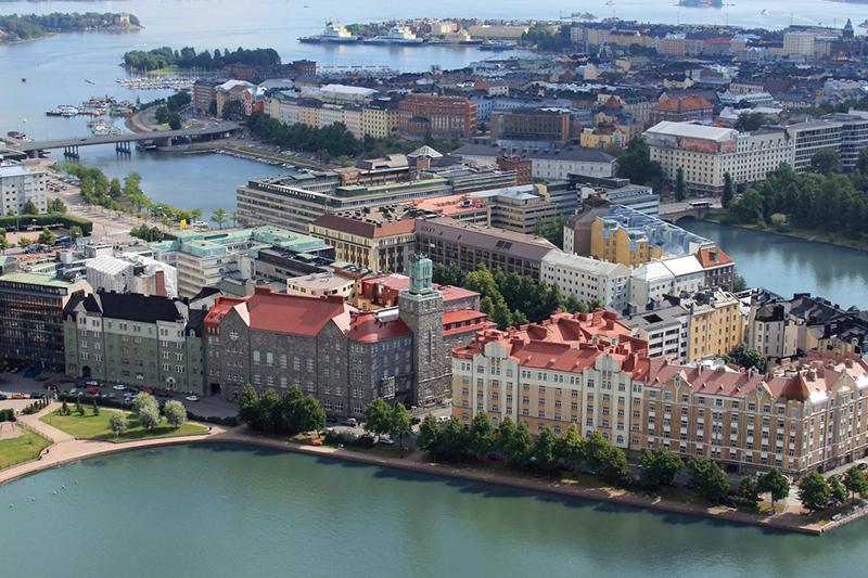 В финском городе Вантаа начинается строительство нового жилого комплекса