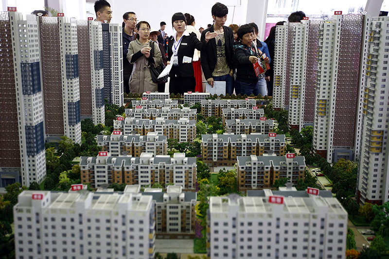 Chinese real estate buyers are back on horseback