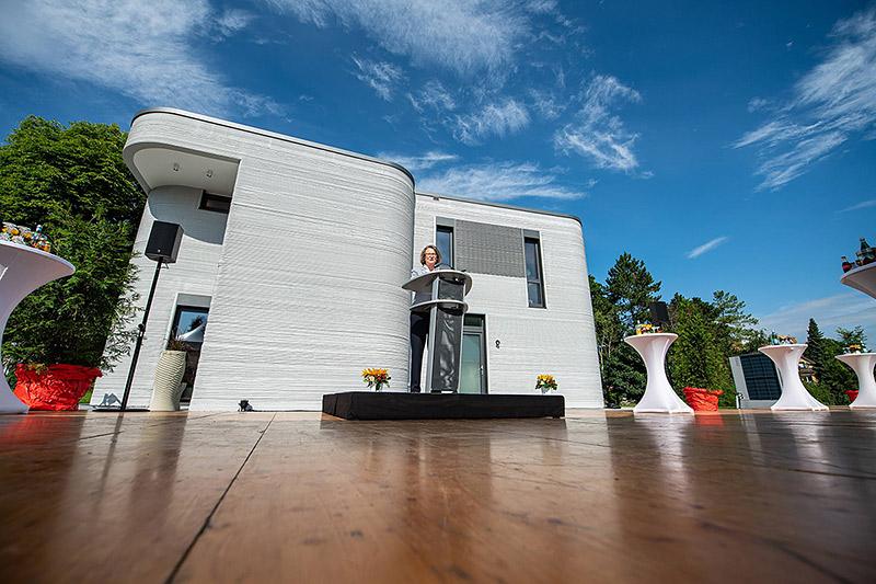 ВГермании сдан первый жилой дом, напечатанный на3D-принтере